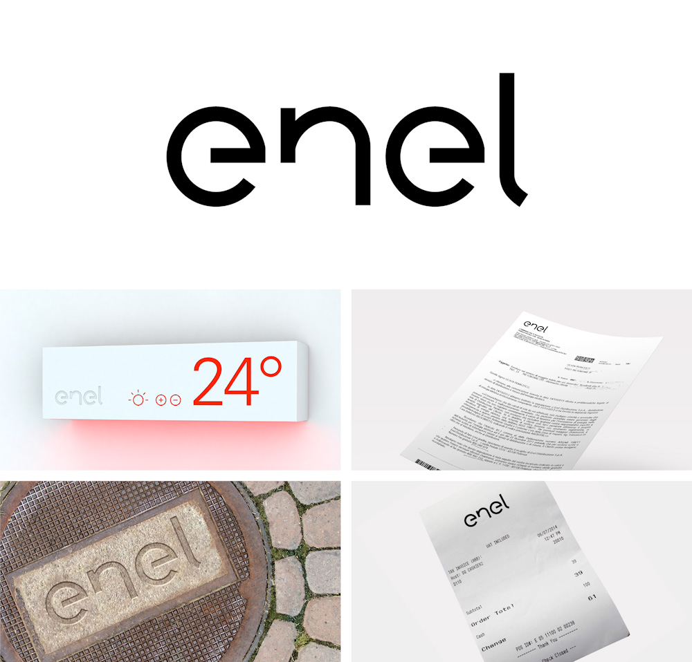 New Logo and Identity for Enel by Wolff Olins