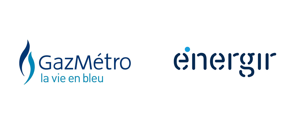 New Name, Logo, and Identity for Énergir by Cossette