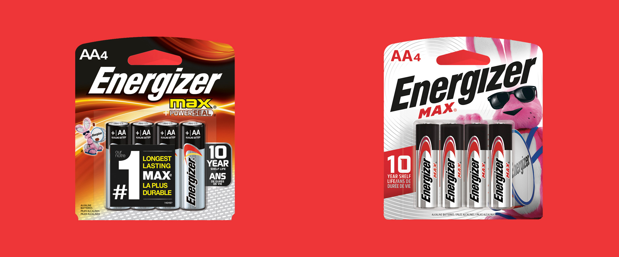 New Packaging for Energizer by DDW