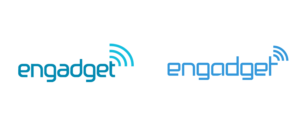 New Logo for Engadget by Gino Reyes
