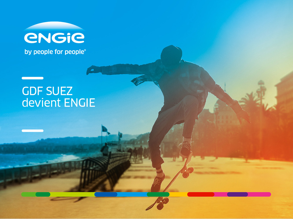 New Name, Logo, and Identity for Engie by Carré Noir