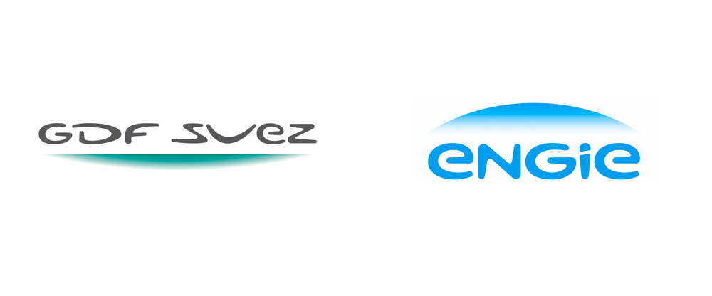 Brand New: New Name, Logo, and Identity for Engie by Carru00e9 ...