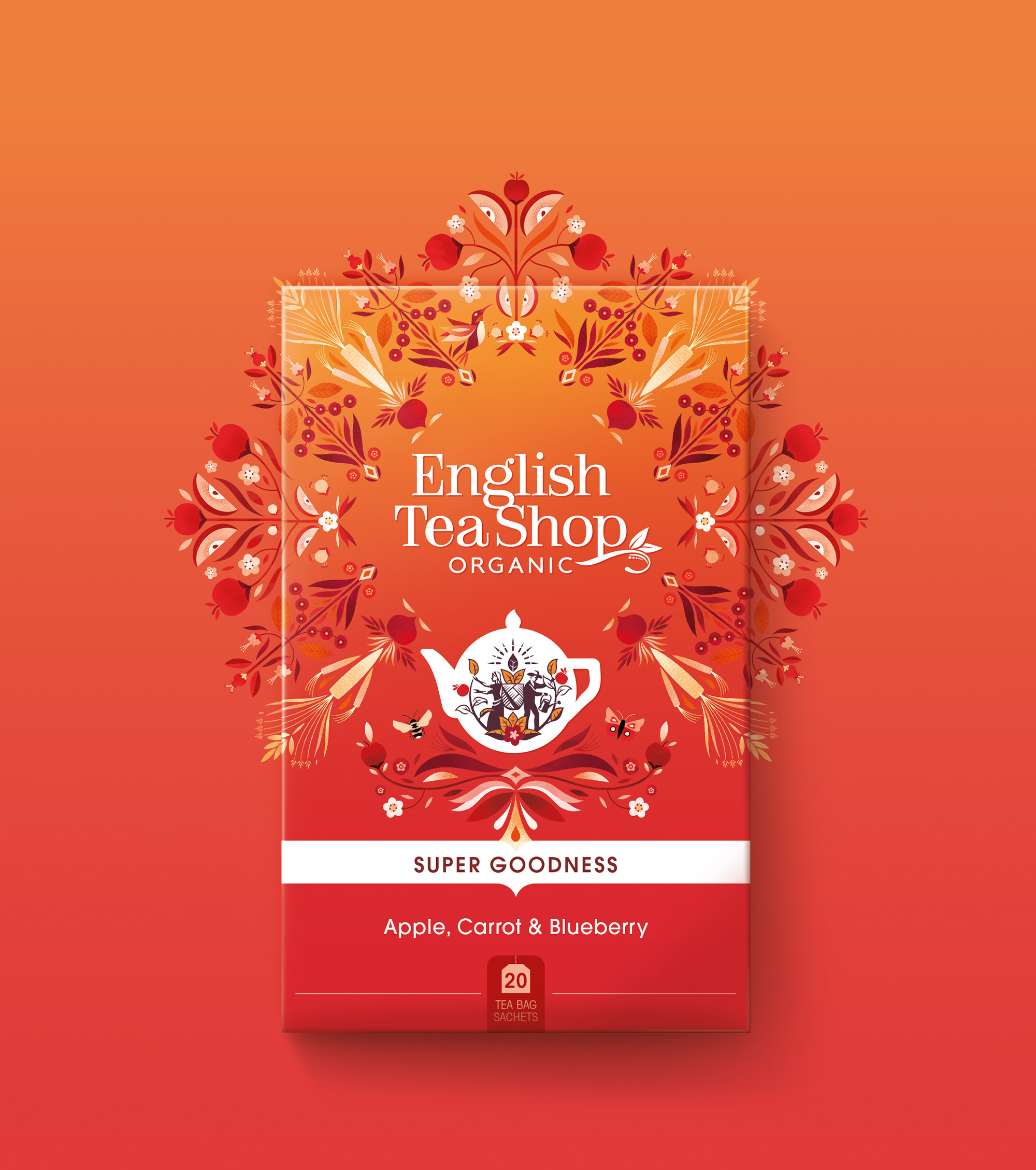 New Logo and Packaging for English Tea Shop by Echo