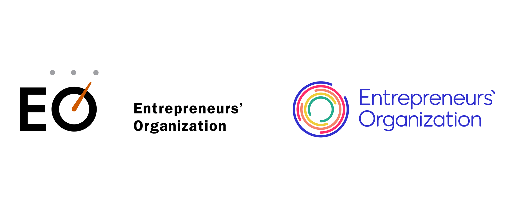 New Logo and Identity for Entrepreneurs' Organization by Brandpie