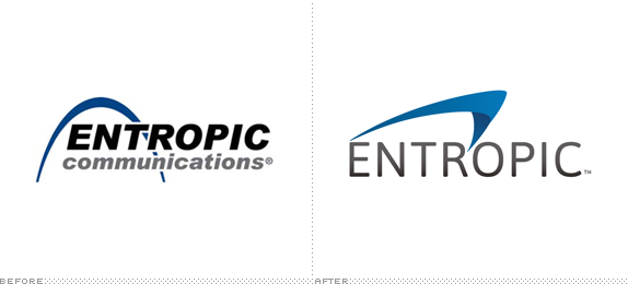 Entropic Logo, Before and After