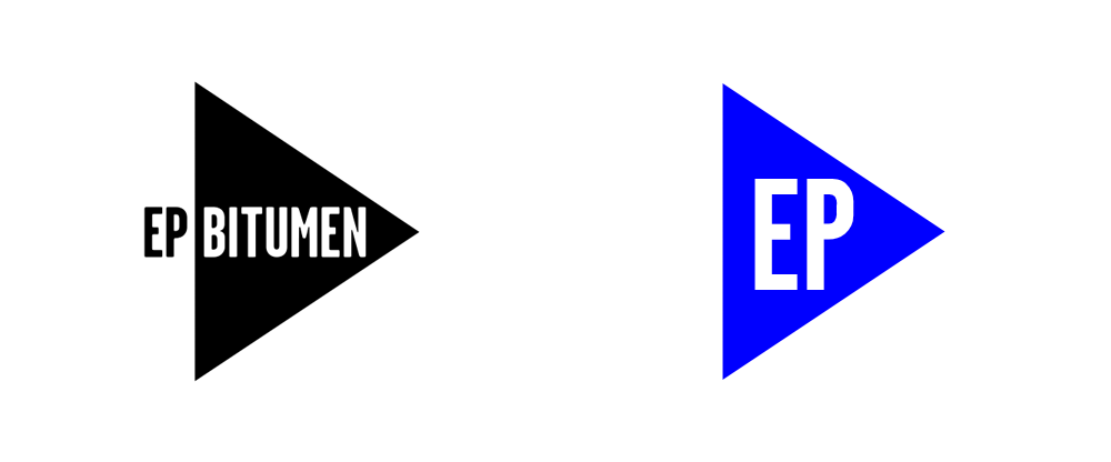 New Logo and Identity for EP Bitumen by Ahoy