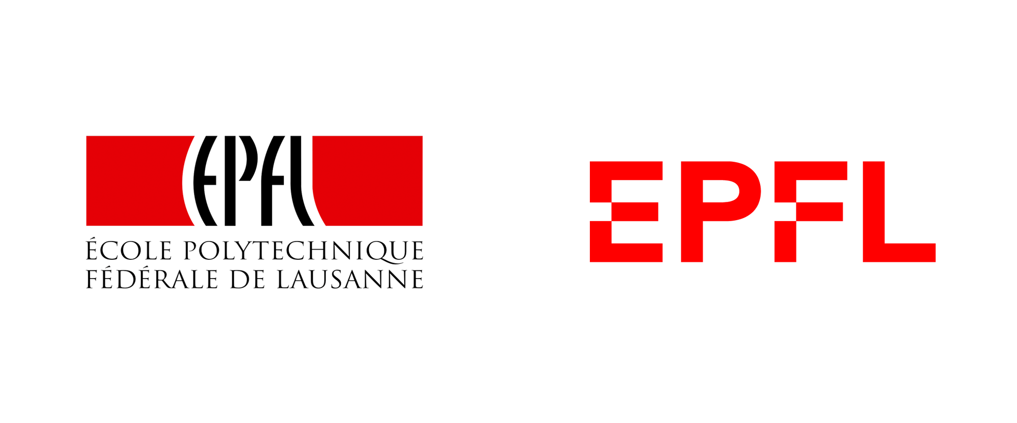 New Logo for Ecole Polytechnique Fédérale de Lausanne by Moser Design
