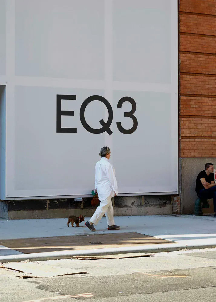 New Logo and Identity for EQ3 by Wedge