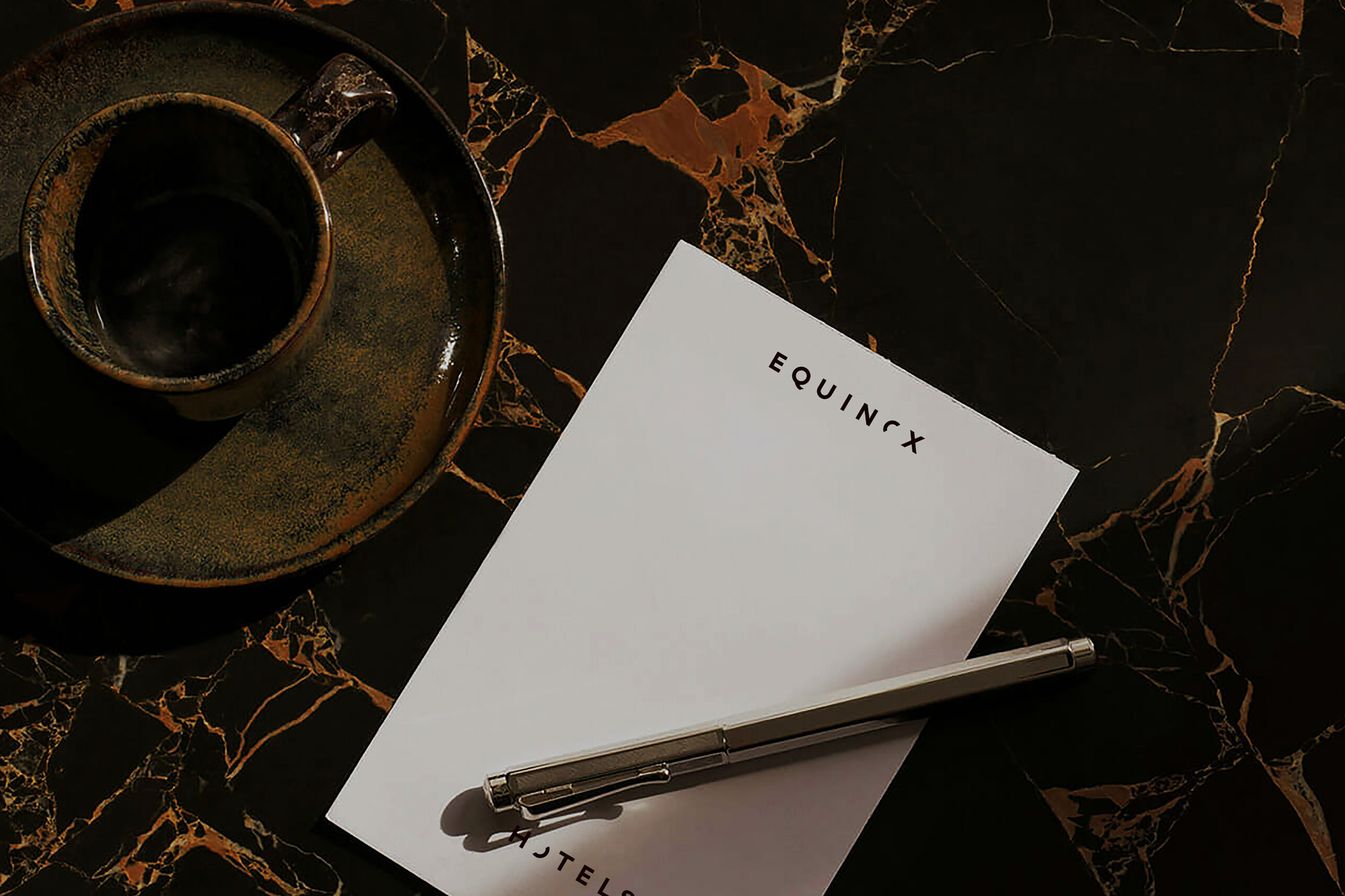New Logo and Identity for Equinox Hotels by COLLINS
