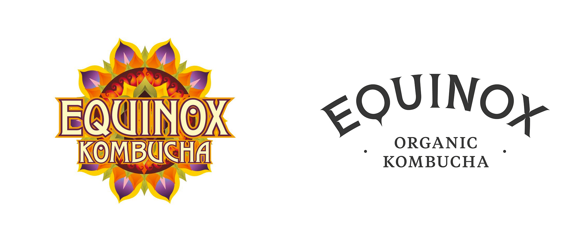 New Logo and Packaging for Equinox Organic Kombucha by Better