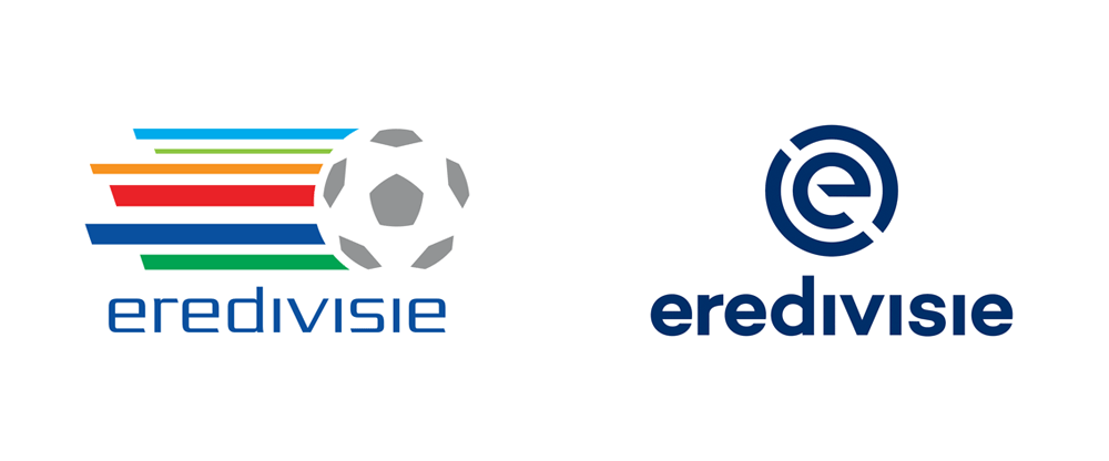 brand new  new logo for eredivisie by dog and pony
