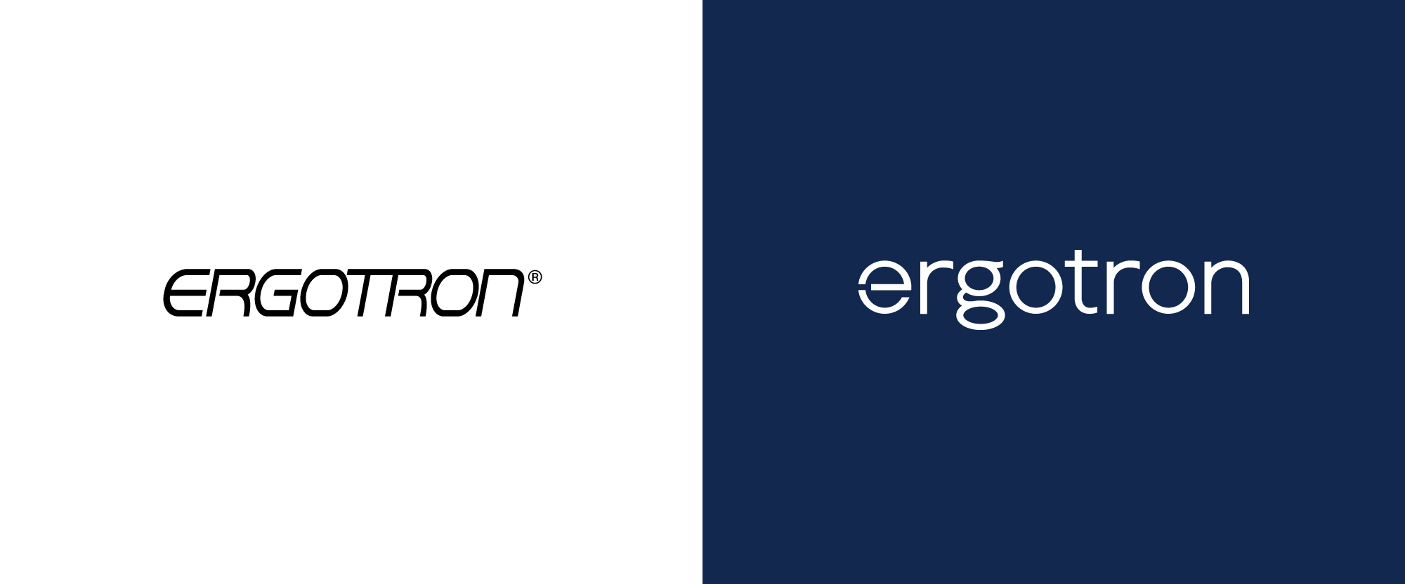 New Logo and Identity for Ergotron by Friends & Neighbors