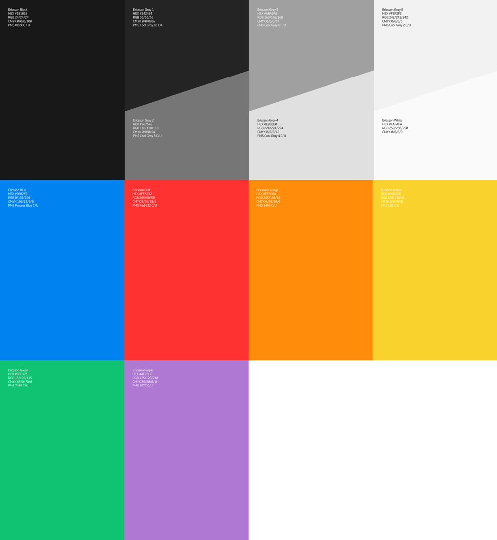 New Icon and Identity for Ericsson by Stockholm Design Lab