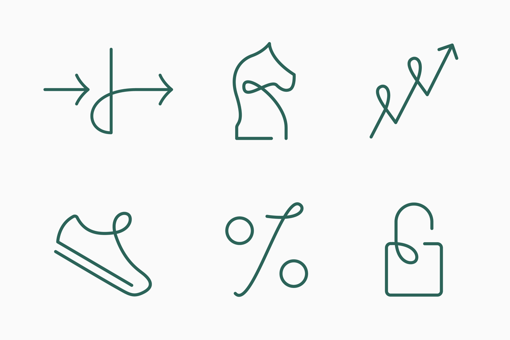 New Logo and Identity for Erik Penser Bank by Bedow