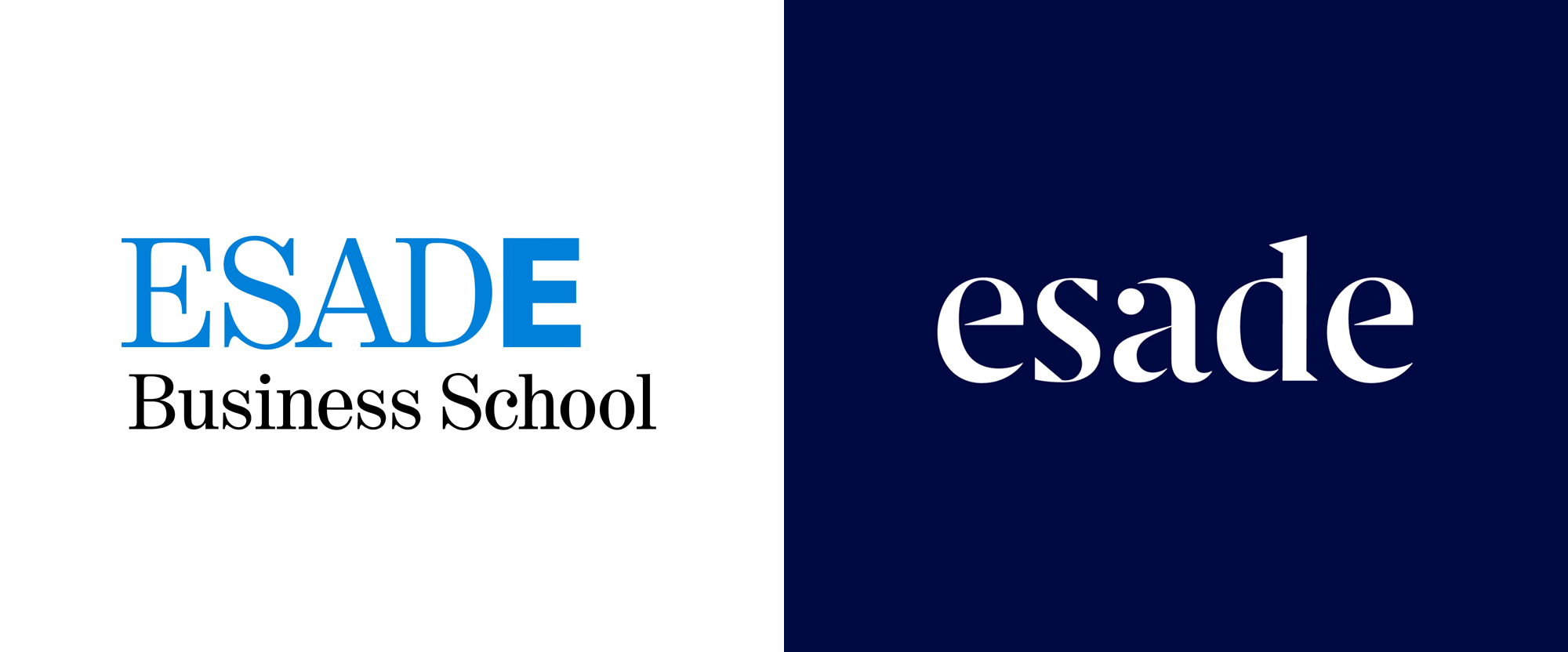 New Logo and Identity for ESADE by Firma