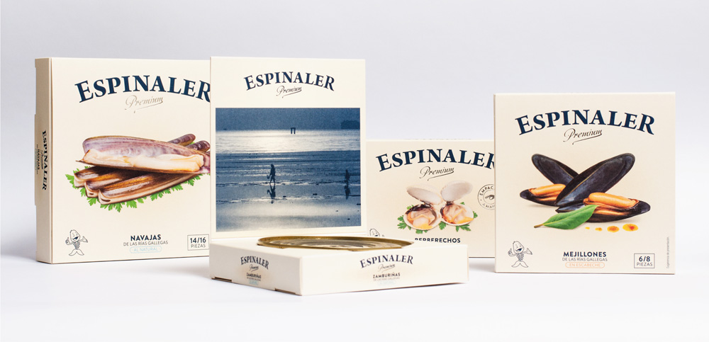 New Logo, Identity, and Packaging for Espinaler by Verdelimón