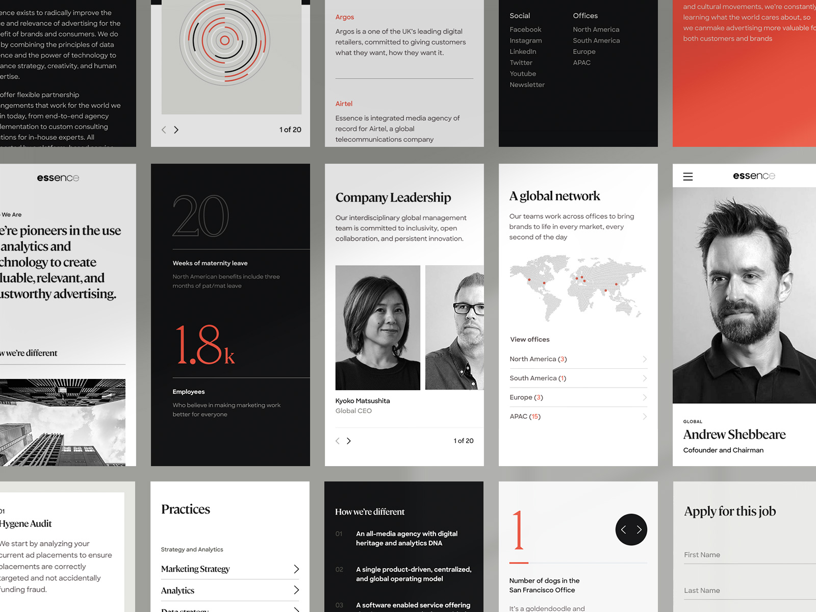 New Logo and Identity for Essence by Ueno