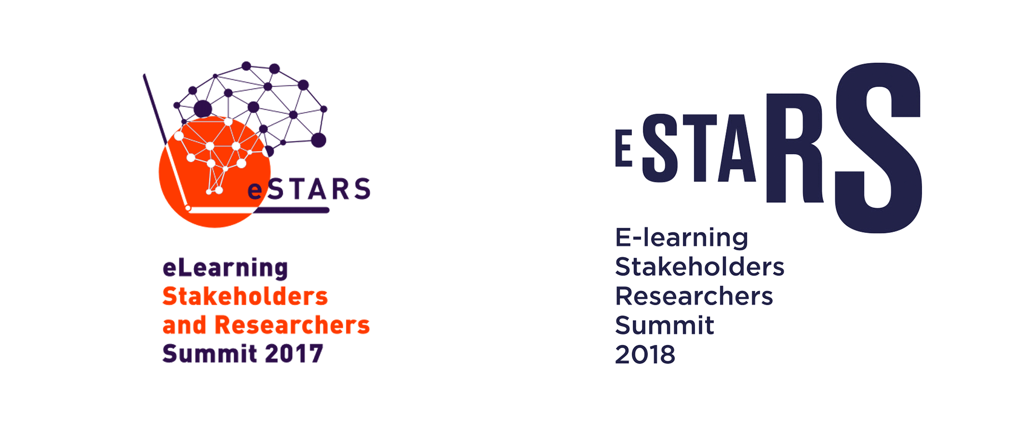 New Logo and Identity for eSTARS by OMSKY