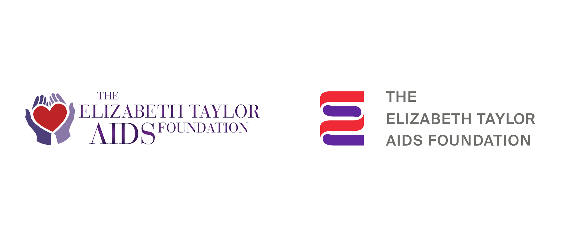 New Logo and Identity for Elizabeth Taylor AIDS Foundation by Studio Cadre