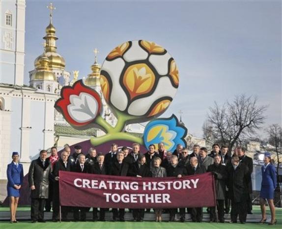 UEFA Logo, Unveil