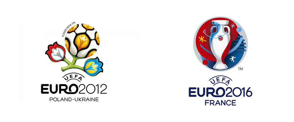 brand new new logo and identity for uefa euro 2016 by brandia central logo and identity for uefa euro 2016