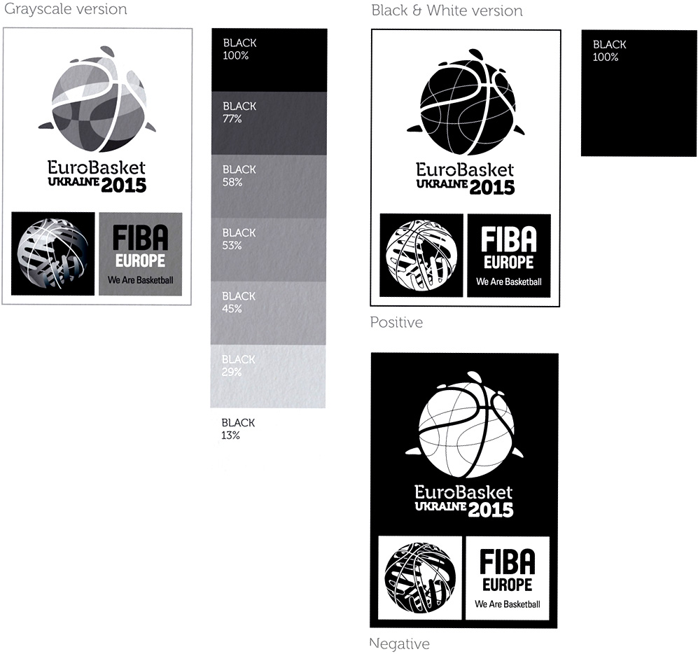 New Logo and Identity for EuroBasket 2015 by Brandia Central