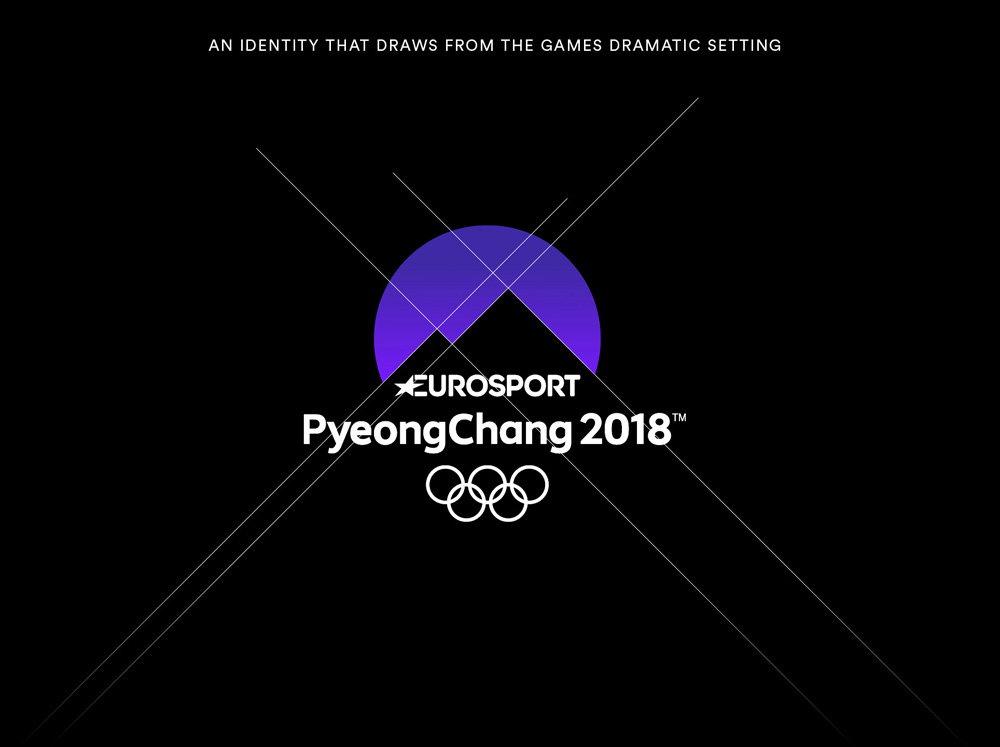 New Logo, Identity, and On-air Look for Eurosport Winter Olympics by DixonBaxi