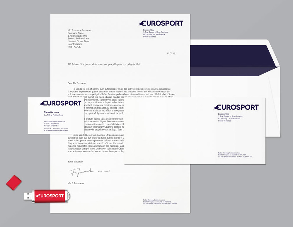New Logo, Identity, and On-air Look for Eurosport by Pentagram and DixonBaxi