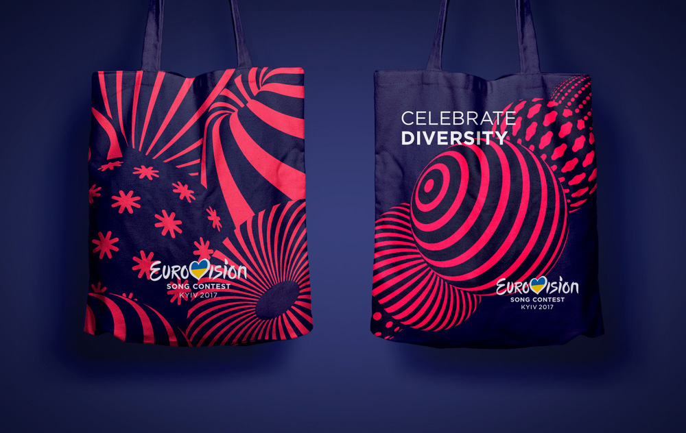 New Logo and Identity for Eurovision Song Contest 2017 by banda.agency and Republique