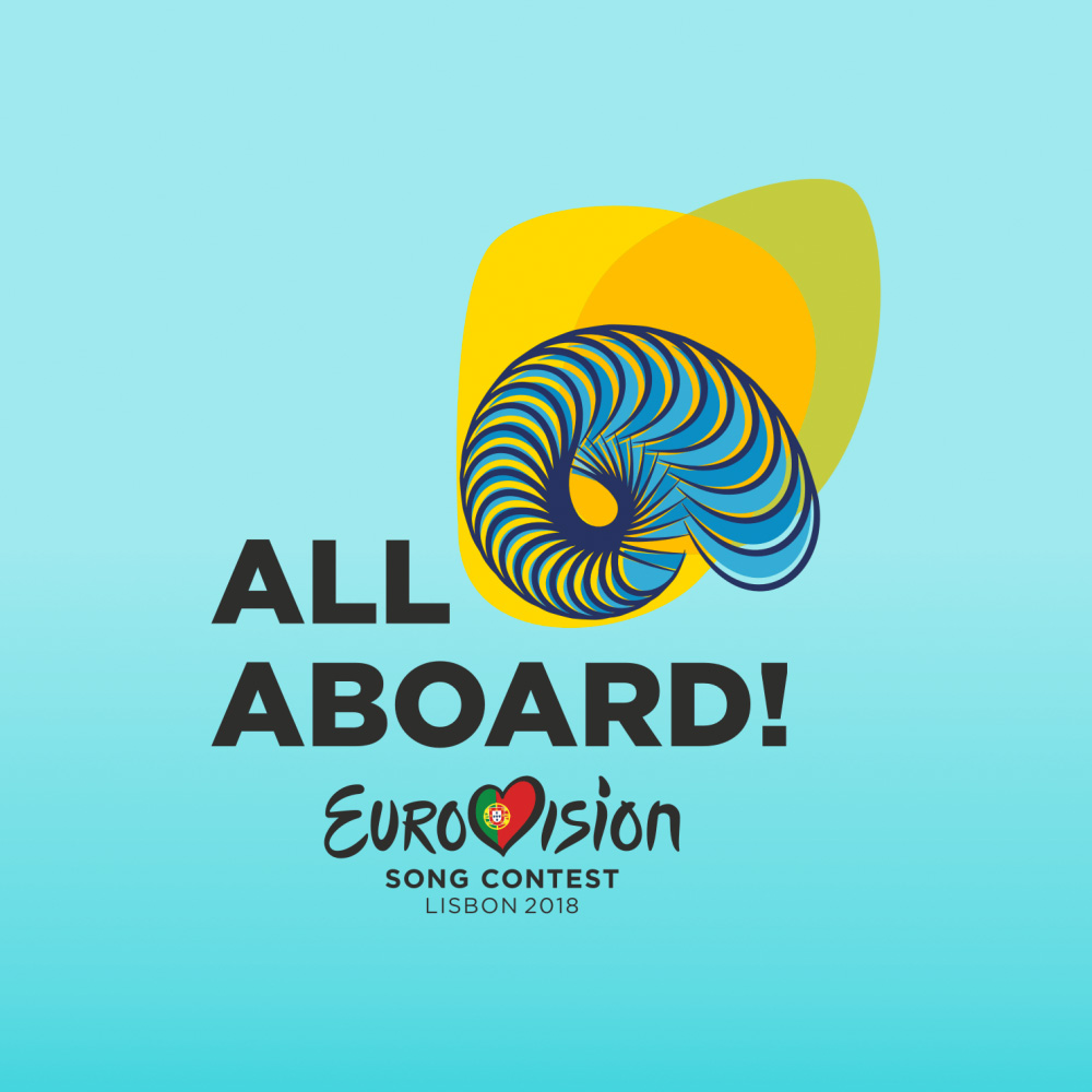 New Logo for Eurovision Song Contest 2018 done In-house at RTP