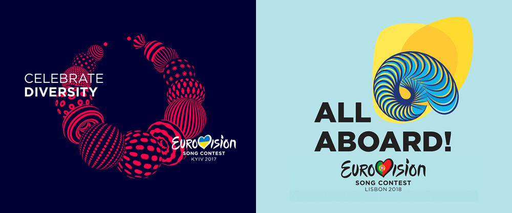 Brand New New Logo For Eurovision Song Contest 2018 Done