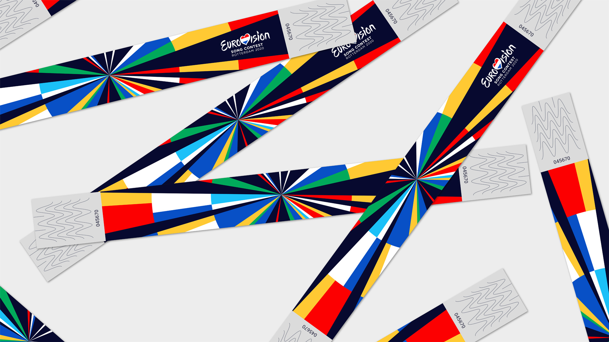 New Logo and Identity for Eurovision Song Contest by CLEVER°FRANKE
