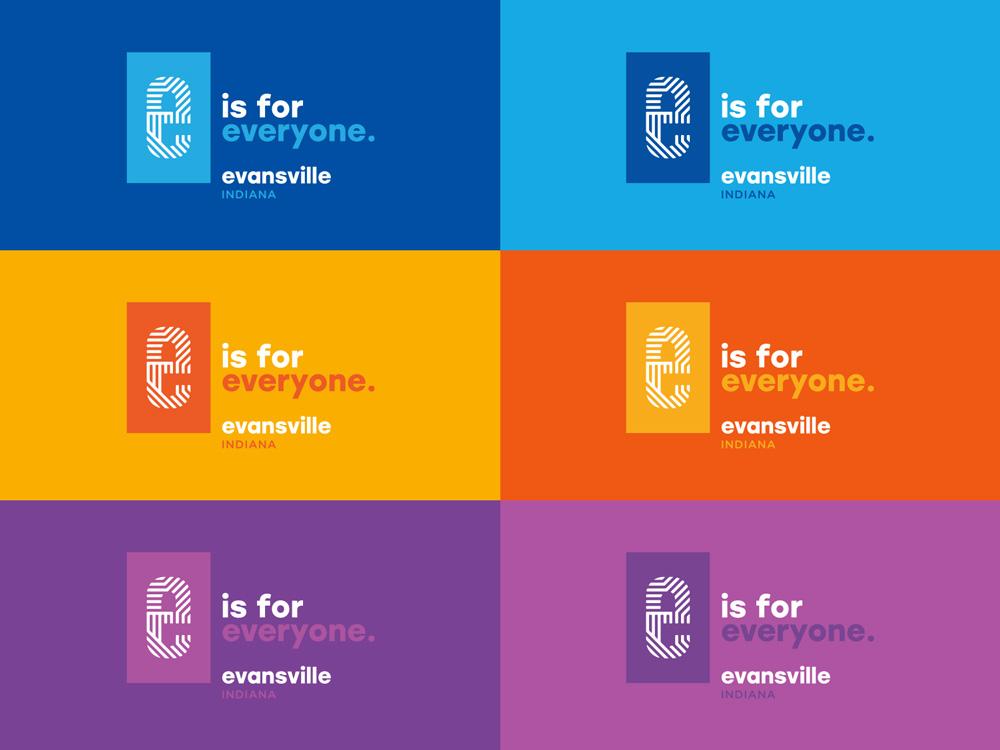 New Logo for Evansville, IN