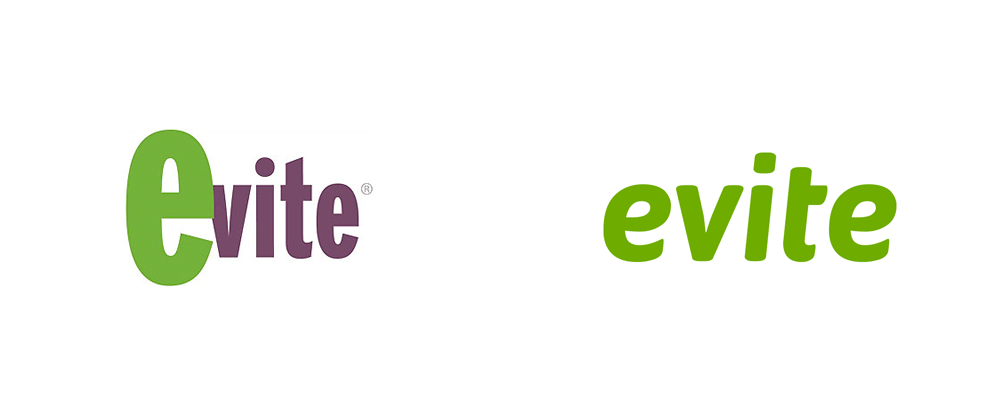 New Logo for Evite done In-house
