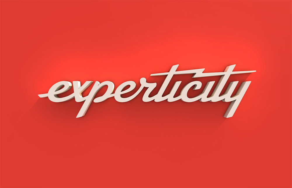 New Logo and Identity for Experticity by Attik