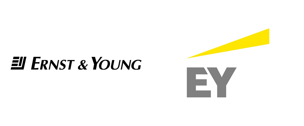 Brand New: New Logo and Name for Ernst & Young by BrandPie