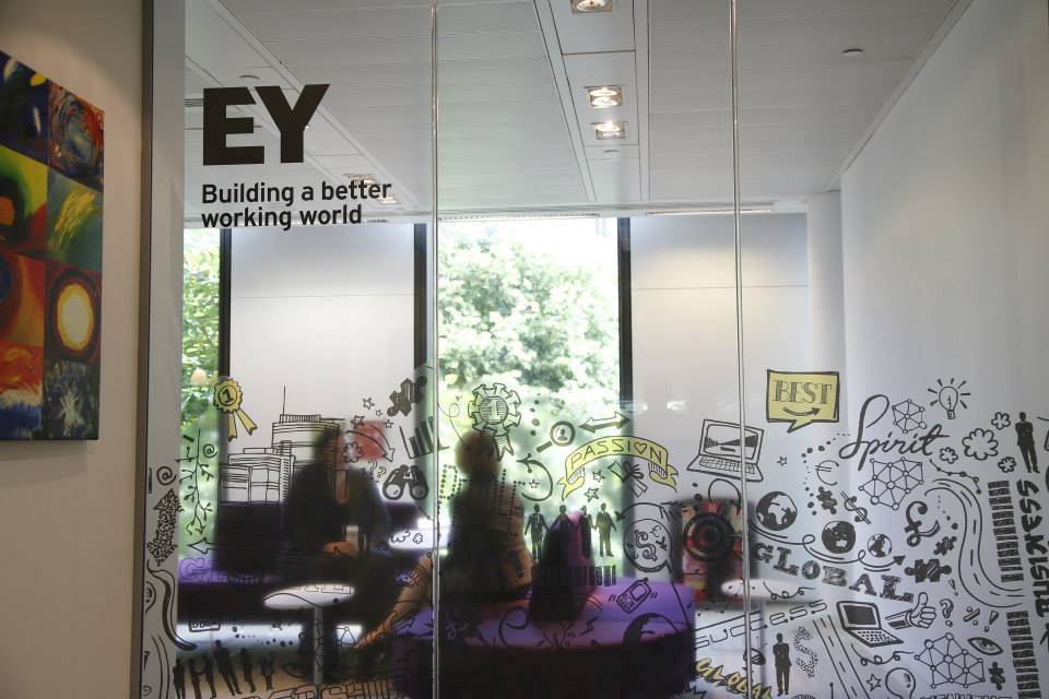 New Logo and Name for Ernst & Young by BrandPie