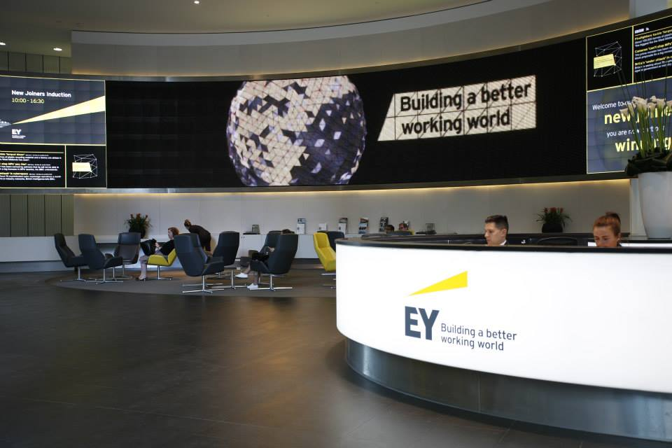 Brand New New Logo And Name For Ernst Amp Young By Brandpie