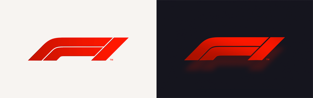 New Logo for Formula 1 by Wieden + Kennedy