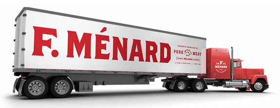 F. Ménard Logo and Identity