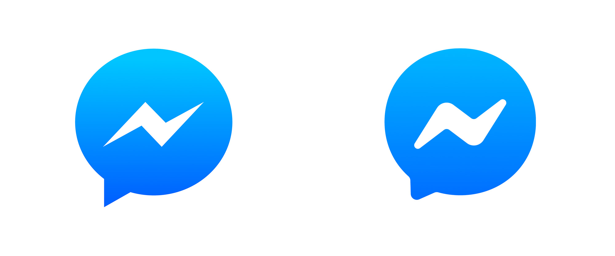 New Icon for Facebook Messenger