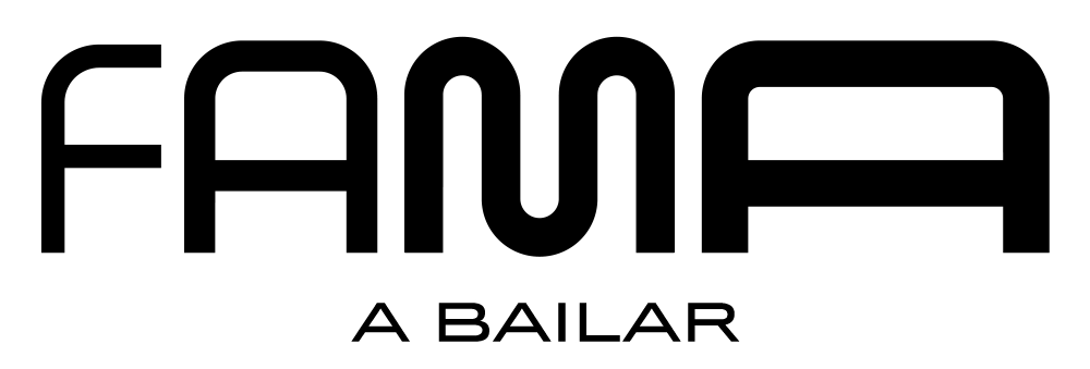 New Logo and Identity for Fama, ¡a bailar! by erretres