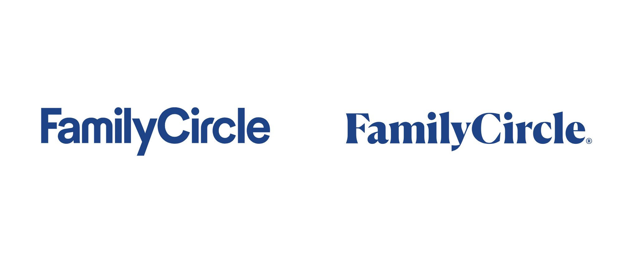 New Logo for Family Circle