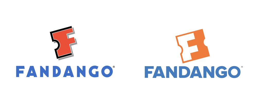 New Logo for Fandango