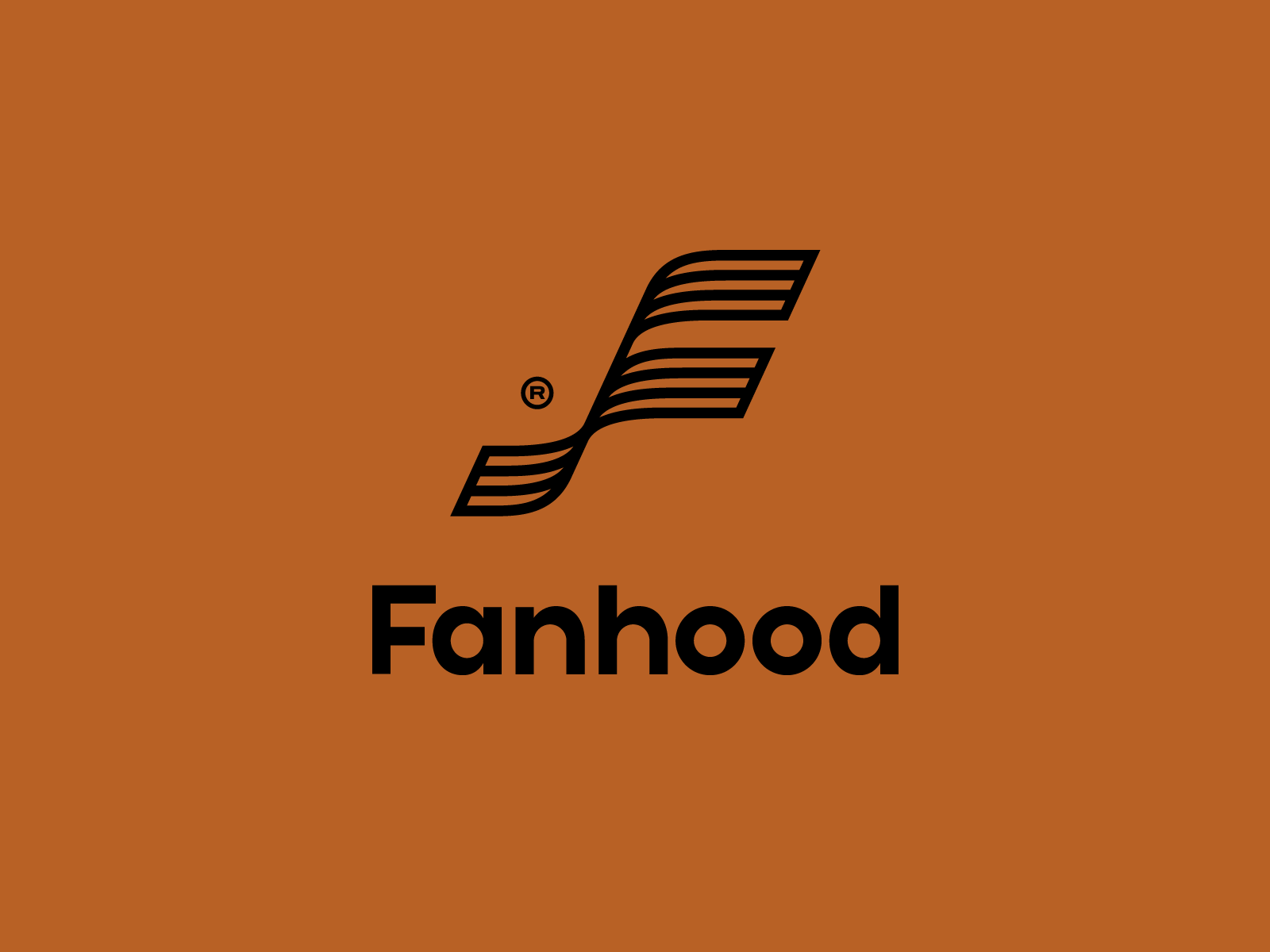 New Logo and Identity for Fanhood by Hoodzpah
