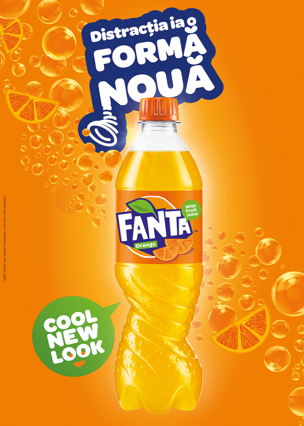 Brand New New Logo And Packaging For Fanta