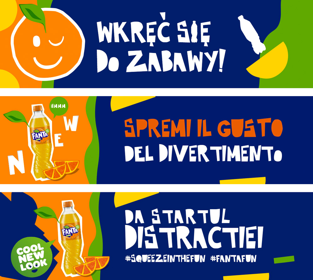 New Logo and Packaging for Fanta