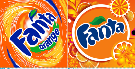 Fanta Identity, Before and After