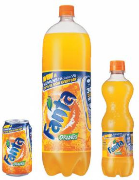 Fanta Old Bottles