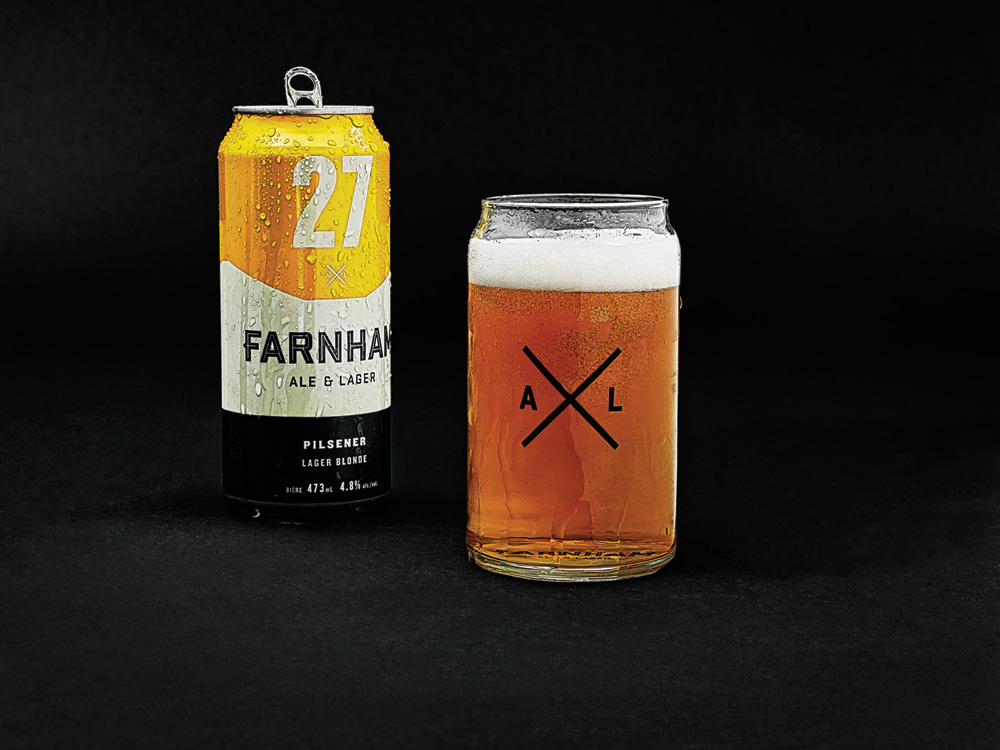 New Logo and Packaging for Farnham Ale & Lager by lg2boutique